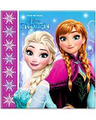 Disney hercegnők Jégvarázs 20 darabos szalvéta - 1. Kép