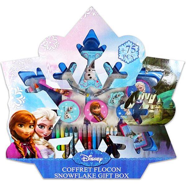 Disney hercegnők: Jégvarázs 75 darabos kreatív szett - 1. Kép