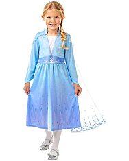 Disney Hercegnők Jégvarázs: Elza utazós ruhája - 104 cm - 1. Kép