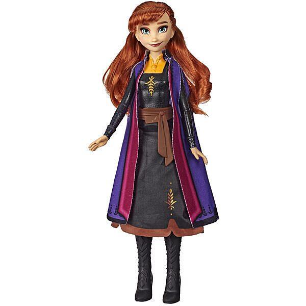 Disney hercegnők Jégvarázs II: Anna baba világító ruhában - 2. Kép