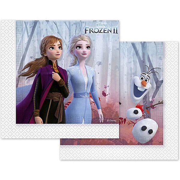 Disney hercegnők: Jégvarázs levél mintás