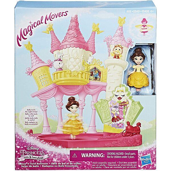 Disney Hercegnők: Magical Movers - Táncoló Belle bálterme játékszett - 4. Kép