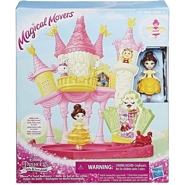 Disney Hercegnők: Magical Movers - Táncoló Belle bálterme játékszett - 5. Kép