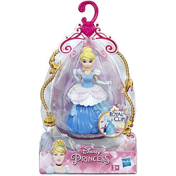 Disney Hercegnők: Öltöztethető Hamupipőke figura 9 cm - 1. Kép