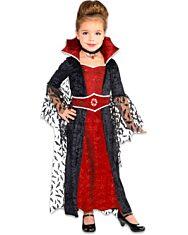 Elegáns vámpír királynő jelmez - 4-6 éves