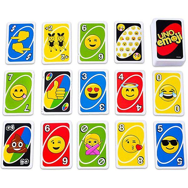 Emojis Uno kártya - 3. Kép
