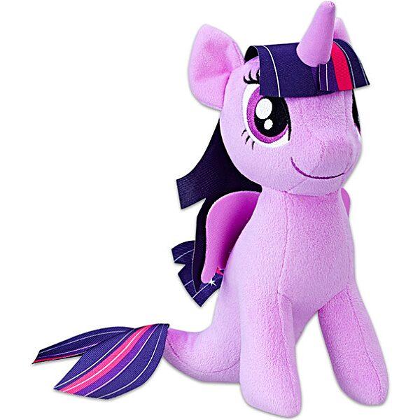 Én kicsi pónim: Twilight Sparkle sellő plüssfigura - 25 cm - 1. Kép