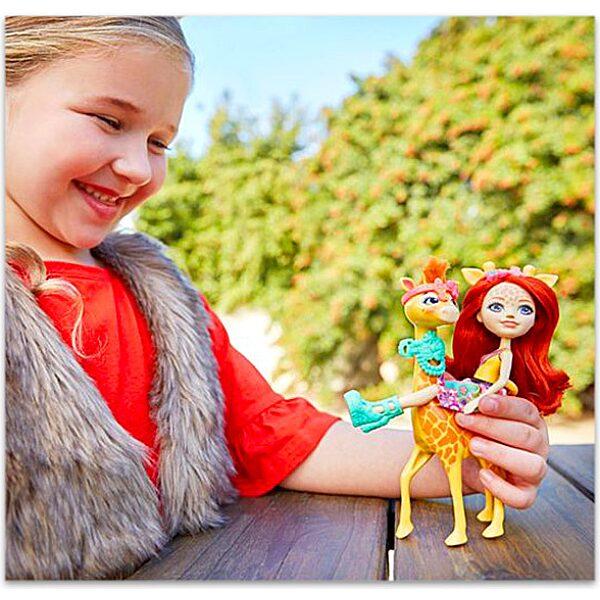Enchantimals: Gillian zsiráf és Pawl figura - 3. Kép