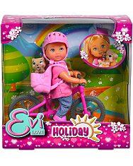 Evi Love: baba kerékpárral - 1. Kép
