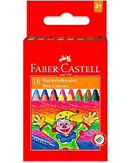 Faber-Castell: 16 darabos viaszkréta - 1. Kép