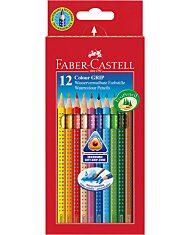 Faber-Castell Grip színes ceruza készlet - 12 db-os - 1. Kép