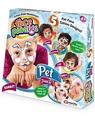 Face Paintoos: Arcfestés tetoválás csomag - házi kedvencek - 1. Kép