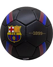 FC Barcelona: címeres focilabda - fekete - 2. Kép