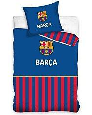 FC Barcelona kétrészes ágyneműhuzat garnitúra - piros