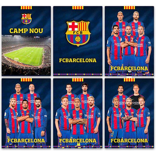 FC Barcelona: sima füzet - A4