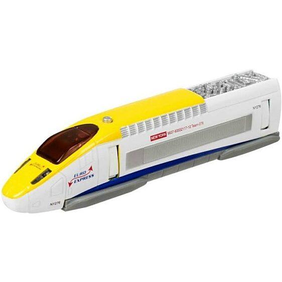 Fehér gyorsvonat hanggal (Teamsterz Hi-speed Train) - 1. Kép