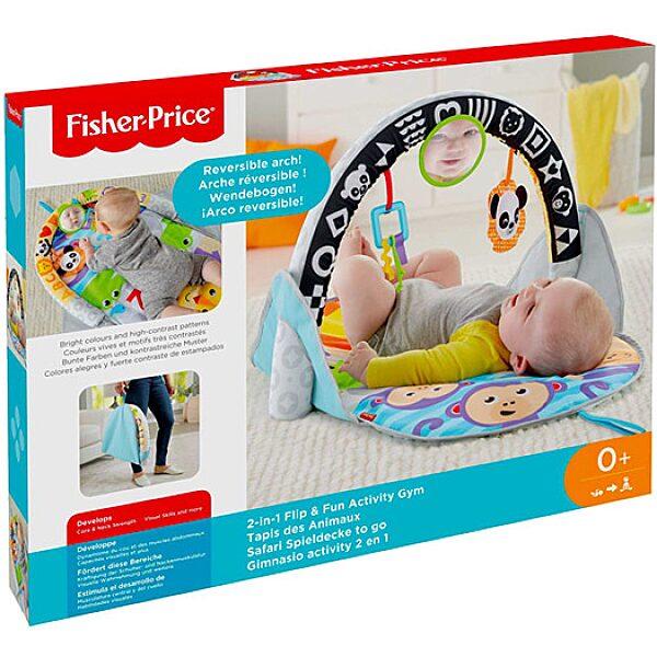Fisher-Price: 2 az 1-ben átfordítható játszószőnyeg - 1. Kép
