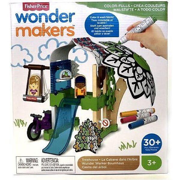 Fisher-Price : Wonder Makers - Fára épített ház - 1. Kép