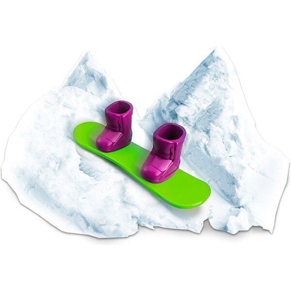 Floof! Hópehely gyurma: Snowboard Park készlet - 120g - 2. Kép