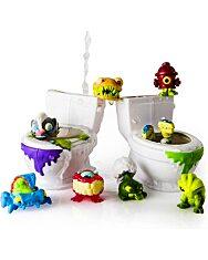 Flush Force: Bűzös WC játékszett 8 darab figurával - többféle - 2. Kép