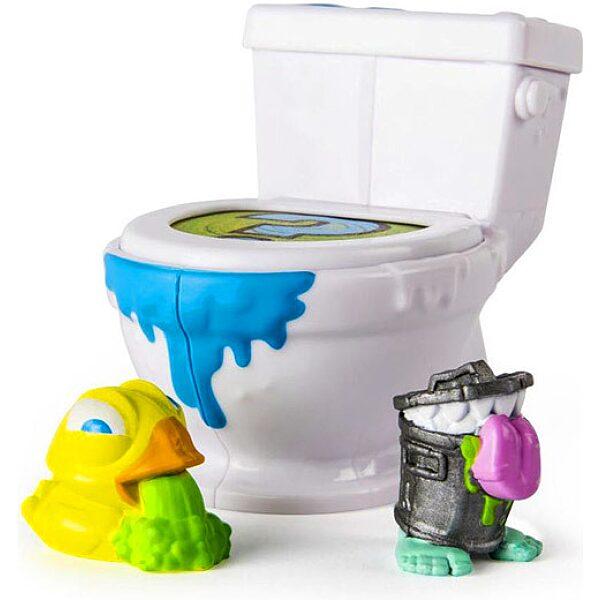 Flush Force: Mutáns figurák WC-ben 2 darabos szett - többféle - 2. Kép