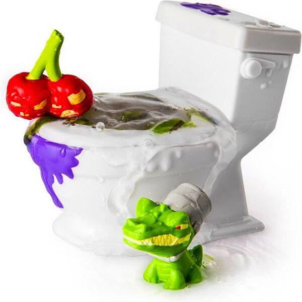 Flush Force: Mutáns figurák WC-ben 2 darabos szett - többféle - 3. Kép