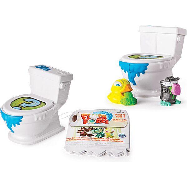 Flush Force: Mutáns figurák WC-ben 2 darabos szett - többféle - 5. Kép
