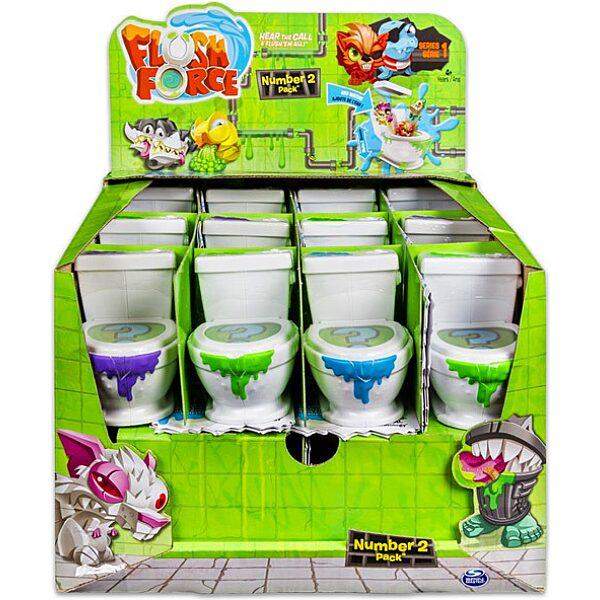 Flush Force: Mutáns figurák WC-ben 2 darabos szett - többféle - 1. Kép