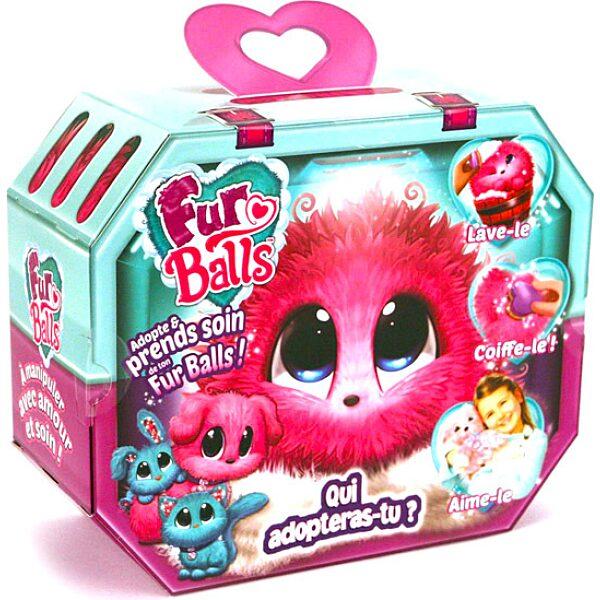 Fur Balls: meglepetés állatka - rózsaszín - 1. Kép