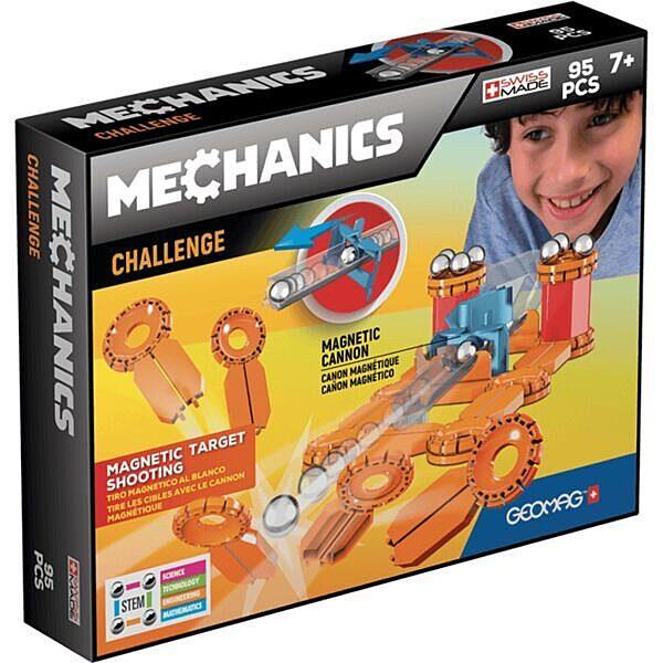 Geomag Mechanics: Challange 95 darabos készlet - 1. Kép