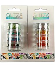 Glitza csillámtetoválás: 4 darabos csillámpor utántöltő - többféle - 1. Kép