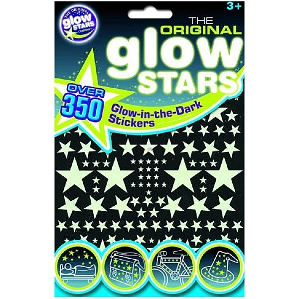 Glowstars 350 db-os foszforeszkáló matrica - 1. Kép