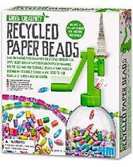 Green Creativity: Papír újrahasznosító gyöngykészítő készlet - 1. Kép