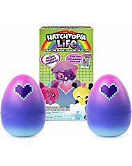 Hatchimals: Hatchtopia Life meglepetés plüssfigura