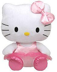 Hello Kitty: plüssfigura - 15 cm