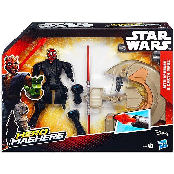 Hero Mashers: Star Wars Sith Speeder és Darth Maul - 1. Kép