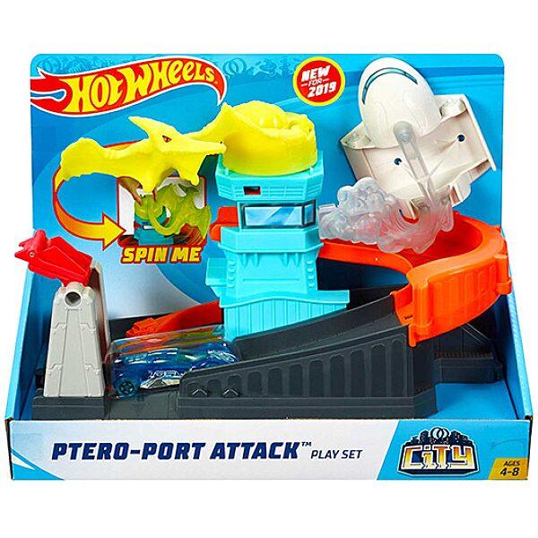 Hot Wheels City: Pteranodon támadás szett - 2. Kép