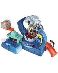Hot Wheels: Őrjöngő robotcápa pályaszett - 2. Kép