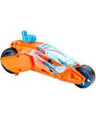 Hot Wheels Speed Winders: Twisted Cycle motor - narancssárga-kék