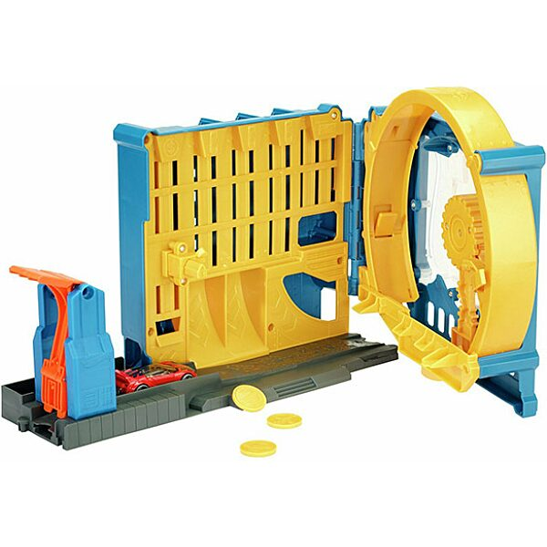Hot Wheels: Szuper bank pénzérmés pályaszett - 2. Kép