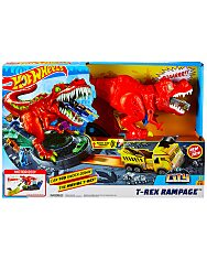 Hot Wheels: T-Rex zúzó pályaszett - 1. Kép