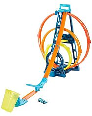 Hot Wheels: Triplahurok pályakészlet - 1. Kép