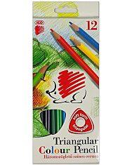 ICO Süni: 12 darabos háromszög alakú színes ceruza készlet - 1. Kép