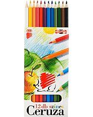 ICO Süni színes ceruza készlet - hajlékony - 12 db-os - 1. Kép