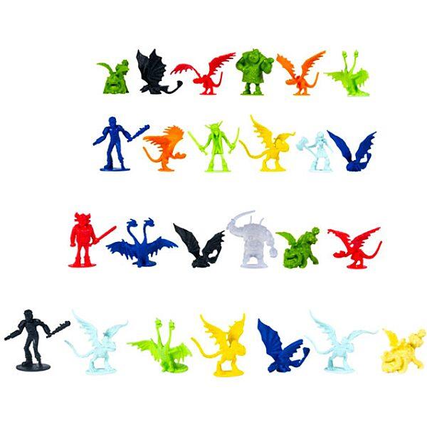 Így neveld a sárkányodat: 25 darabos figurák vödörben - 2. Kép