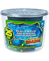 Így neveld a sárkányodat: 25 darabos figurák vödörben - 1. Kép