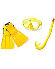 Intex: Master Class búvár szett - citromsárga - 1. Kép