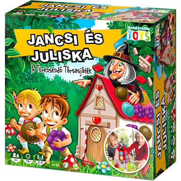 Jancsi és Juliska társasjáték - Új kiadás - 1. Kép
