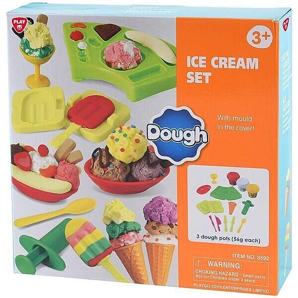 Jégkrém gyurmakészlet - 1. Kép