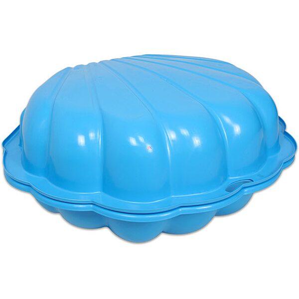 Kagyló homokozó - kék